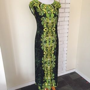 Bob Mackie Wearable Art Dress XXSP Green